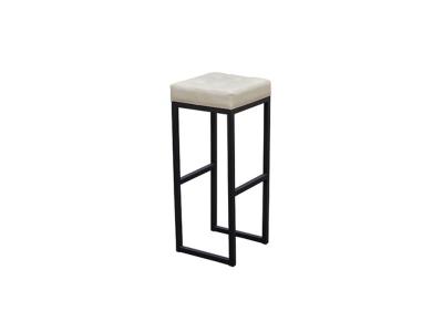 Барный стул Лофт-2 черный-белый