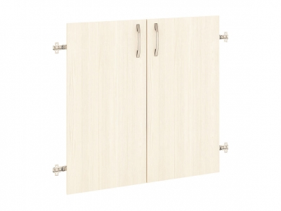 Дверь ЛДСП 2 секции 40.37 Рубин 700х700