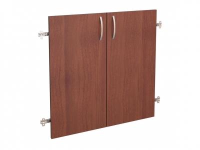Дверь ЛДСП 2 секции 41.37 Рубин 700х700