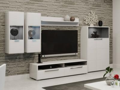 Гостиная Наоми ГН-208.101 Белый глянец