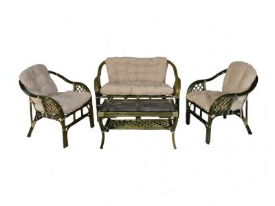 Комплект Маркос с диваном олива