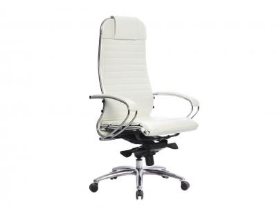 Компьютерное кресло Samurai K-1.04 белый лебедь с ковриком СSm-25