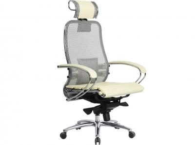 Компьютерное кресло Samurai S-2.04 бежевый с ковриком СSm-25