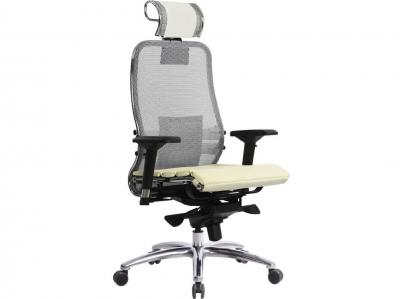 Компьютерное кресло Samurai S-3.04 белый лебедь с ковриком СSm-25