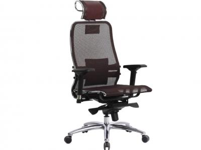 Компьютерное кресло Samurai S-3.04 темно-бордовый