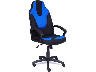 Кресло Neo-3 ткань Чёрный + Синий (2603/2601)