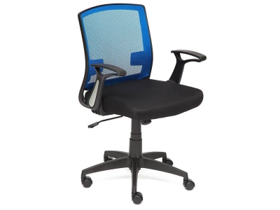 Кресло Scout ткань Чёрный - Синий
