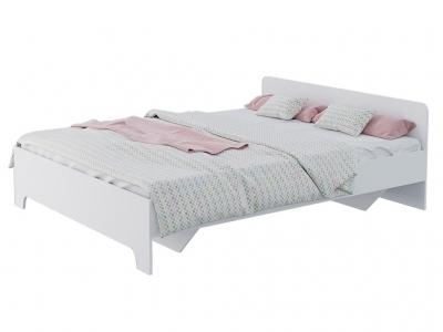 Кровать 1,6 Victor Белый с основанием