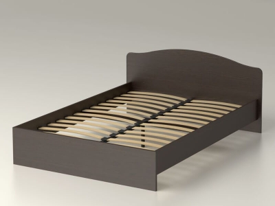 Кровать 140 Альфа 22 с основанием Венге