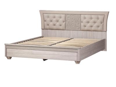 Кровать 1600 Лючия 198 дуб оксфорд серый 1831х968х2080