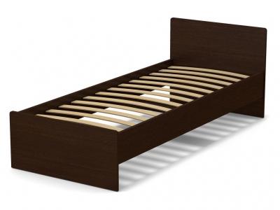 Кровать 80 Эксон с основанием Венге