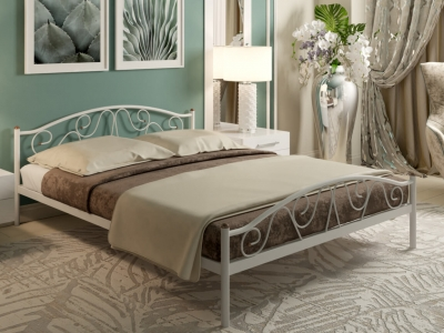 Кровать Ангелина Plus белая
