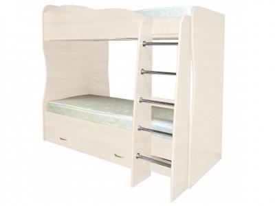 Кровать детская двухъярусная Юниор-2 Анкор светлый