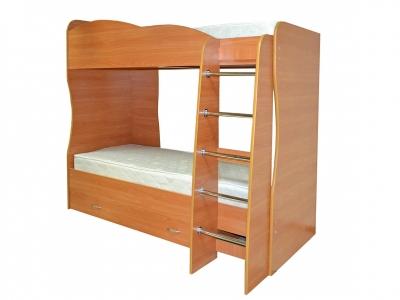 Кровать детская двухъярусная Юниор-2 Вишня