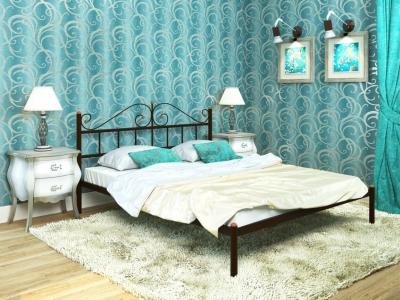 Кровать Диана коричневая