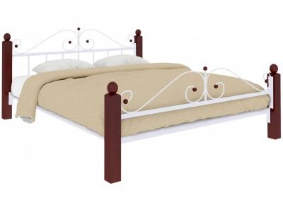 Кровать Диана Lux plus белая