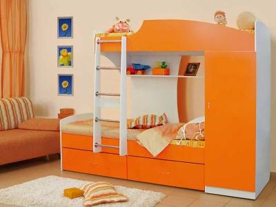 Кровать двухъярусная №1 манго