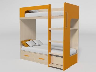 Кровать двухъярусная №7 манго