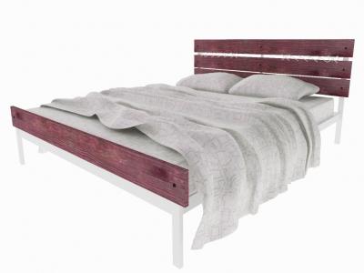 Кровать Луиза Plus белая
