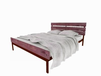 Кровать Луиза Plus коричневая
