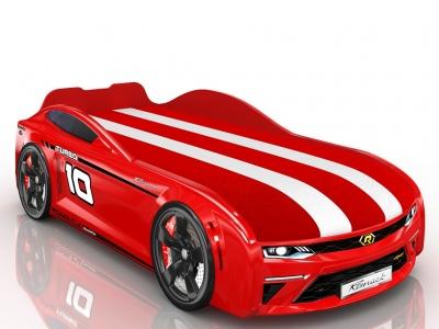 Кровать-машинка Romack Energy-M Красная