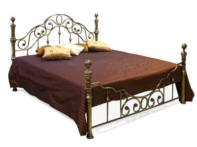 Кровать металлическая Victoria 180х200 Античная Медь
