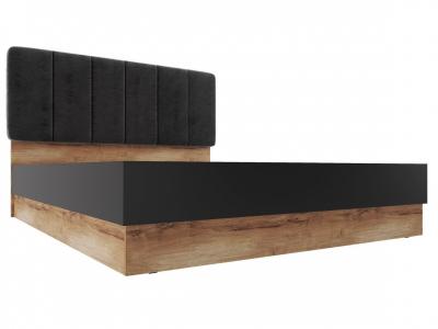 Кровать с подъемным механизмом 1800 Р 1.1.0 Рамона Дуб кельтский/Черный