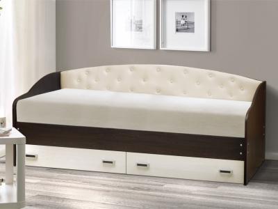 Кровать Софа No 7 Венге-ясень анкор светлый