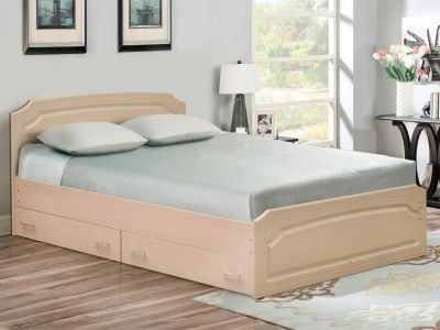 Кровать Венеция 3 матовая с ящиками