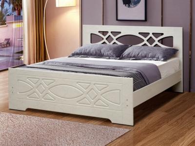 Кровать Венеция 7 Ясень Анкор светлый
