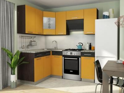 Кухонный гарнитур Алиса 11 угловой Манго