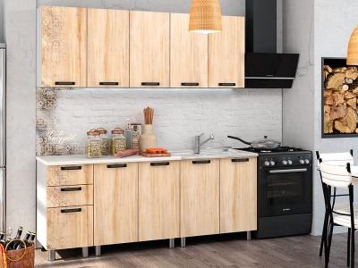 Кухонный гарнитур Bon Appetit 2000 Клён медовый