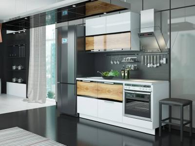 Кухонный гарнитур Фэнтези Вуд 1,8м