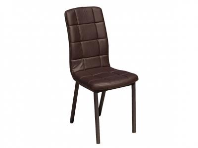 Кухонный стул Квадро металл коричневый