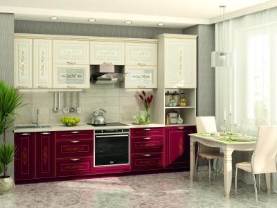 Модульная кухня Виктория с кристаллами Swarovski