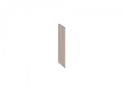 Панель боковая декоративная верхняя ПБд-В_60 Бьюти Капучино