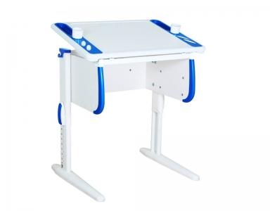 Парта СУТ-26 White синяя