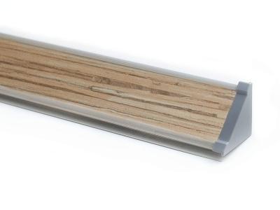 Плинтус с заглушками ПЛ 03.300 Тростник 3000