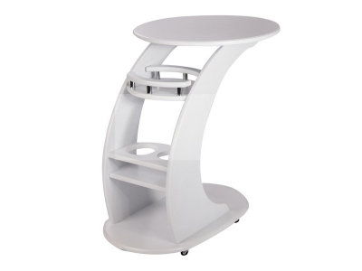 Придиванный стол Люкс молочный дуб