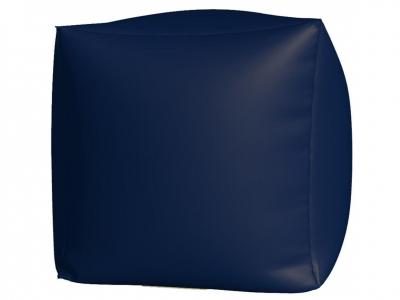 Пуфик Куб макси нейлон темно синий