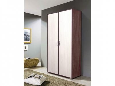 Шкаф 2-х дверный комбинированный без зеркала Венеция 9
