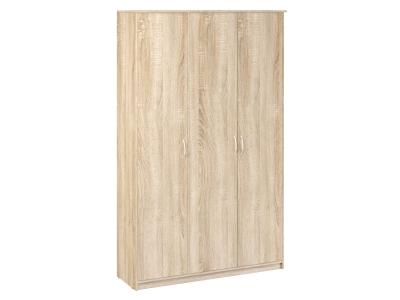 Шкаф 3-х створчатый Дуэт Люкс 1415х450х2300 Дуб Сонома светлый