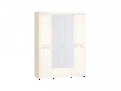Шкаф четырехдверный с зеркалом 93.14 Тиффани 1700х580х2250