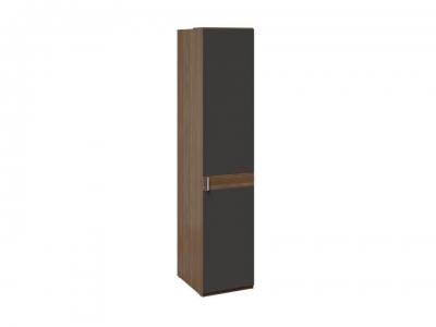 Шкаф для белья с 1 дверью Харрис СМ-302.07.001 Дуб американский, Серебряный гранит