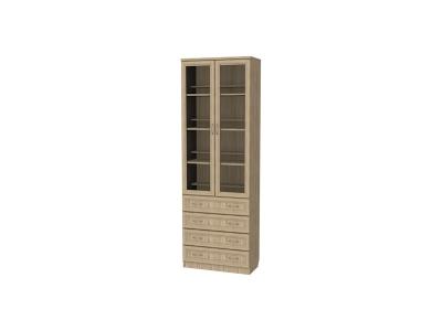 Шкаф для книг с ящиками артикул 204 дуб сонома