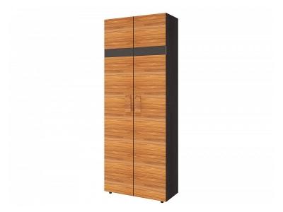 Шкаф для одежды Гипер 2 797х389х2113 с фасадом в цвете Палисандр