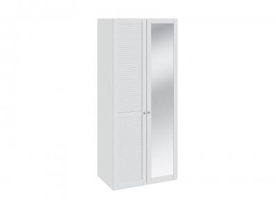 Шкаф для одежды с 1 глух. и 1 с зерк. дверью Ривьера СМ 241.07.002 L Белый