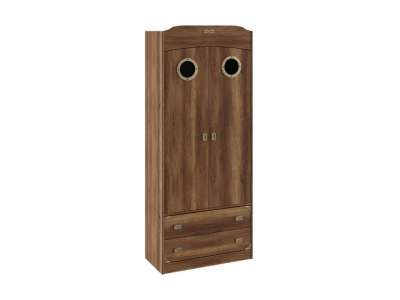 Шкаф комбинированный для одежды с иллюминатором Навигатор СМ-250.07.22 Дуб Каньон