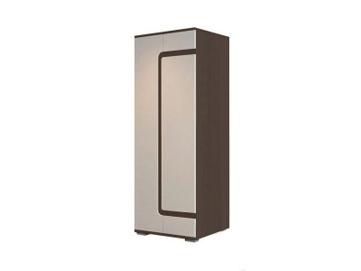 Шкаф комбинированный Нота-25 2134х850х540мм Дуб Венге-Жемчуг