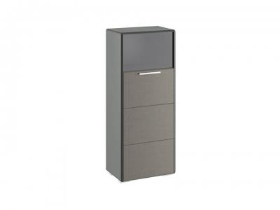 Шкаф комбинированный с 1 дверью Наоми ТД-208.07.28 Джут, Серый